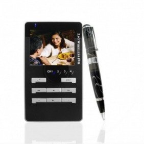 Solar Charger Wireless Spy Camera Pen