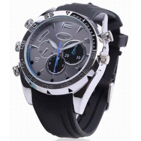 1080P Night Vision 8GB Spy Camera Watch