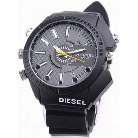 4GB Spy Camera Watch - Waterproof Night Vision 1080P Full HD Camera