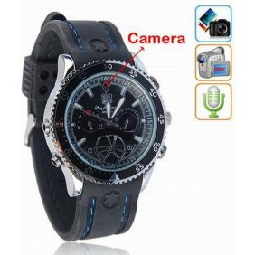 4GB Spy Watch Hidden Camera DVR 640*480