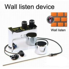 Pro Spy Wall Listening Device